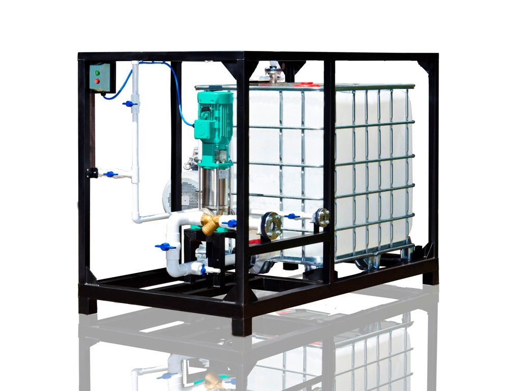 UVB-1 Water Phase Extension  1 m3/h  Production Capacity
