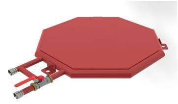 Emulsifier tank heater