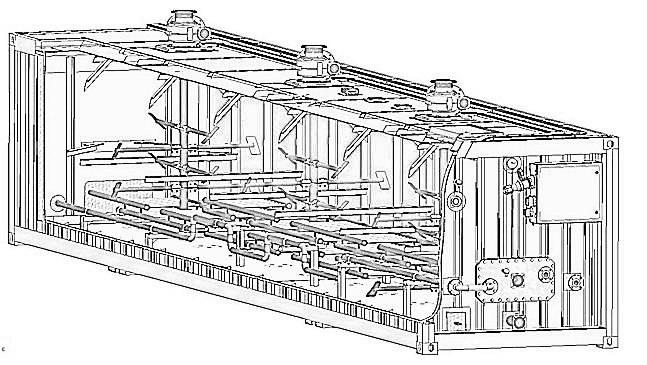 Bitumen Emulsion Storage Vessel